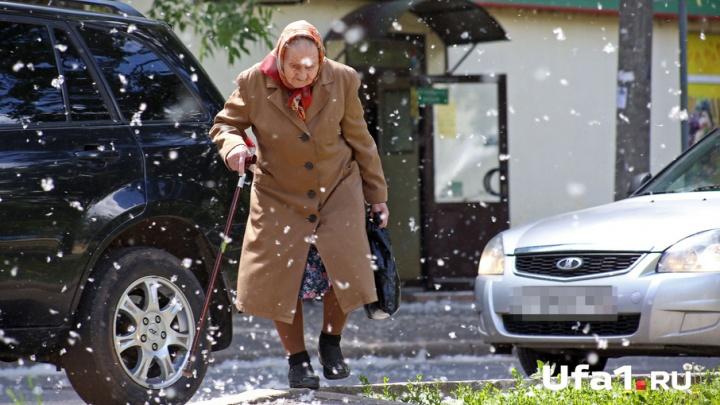 Зима близко: Уфа в объятьях белого плена