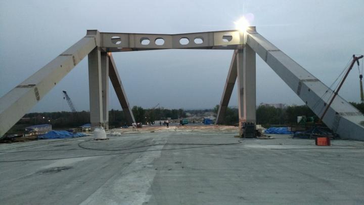 Подрядчики объяснили, каким будет рабочее движение по Фрунзенскому мосту