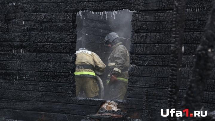 В Башкирии на пожаре погиб 52-летний мужчина