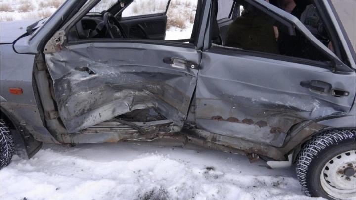 В аварии в Сафакулевском районе пострадала 13-летняя девочка