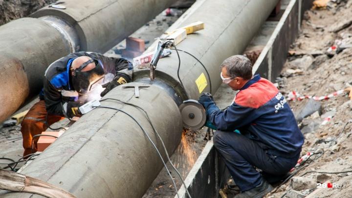 Запасаемся водой: вечером 7 августа в домах Архангельска отключат воду из-за ремонта на «тысячнике»