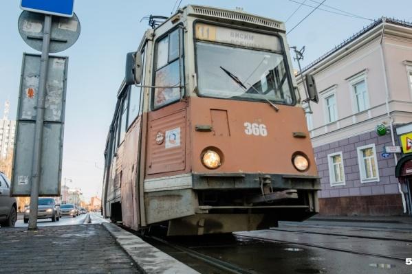 Новое расписание движения трамваев будет действовать с 1 мая