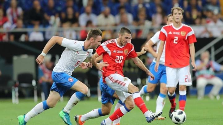 Счет почти как в песне группы «Чайф»: Россия разгромила Чехию в товарищеском матче