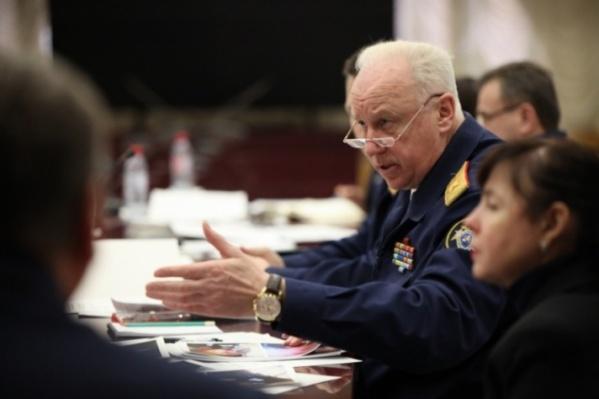 Главу СК России возмутило отношение к слепому старику