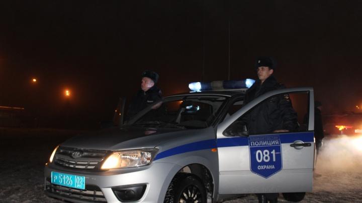 Ночная погоня со стрельбой: в Уфе скрутили шестерых на Nexia