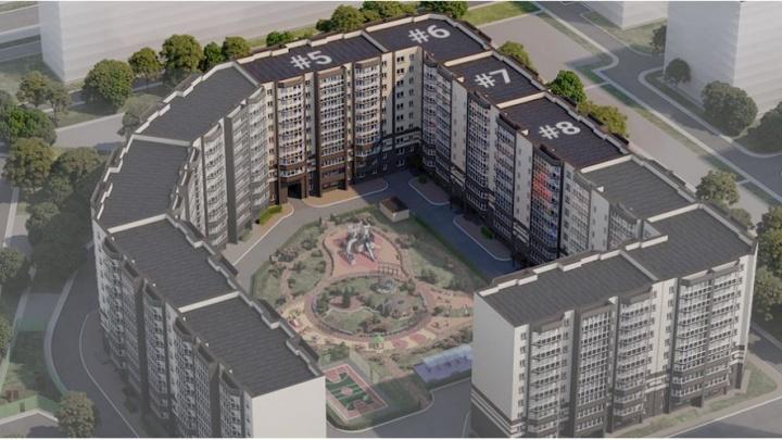Вместо 3 высоток на месте складов на Шахтеров построят дом с ландшафтным парком