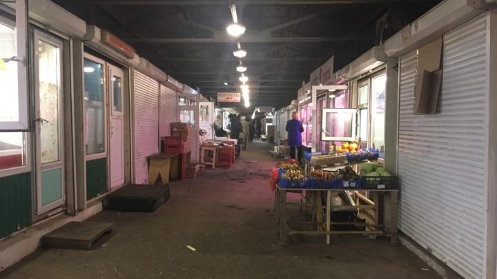 Власти решили снести рынок на пересечении Ново-Вокзальной и Московского шоссе
