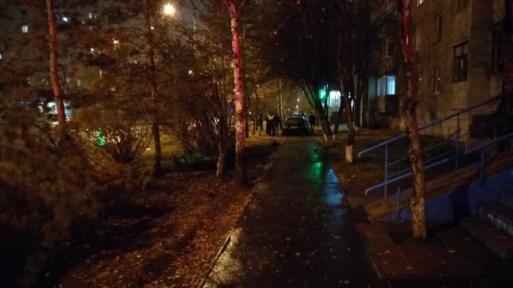 Пьяный тюменец пытался уехать от сотрудников полиции, но врезался в дерево