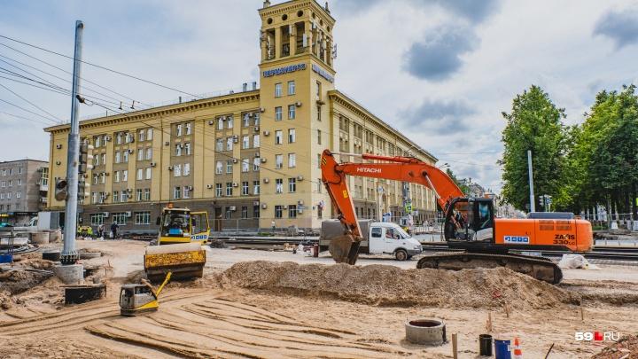 В Перми начинают реконструкцию нового участка улицы Революции. Публикуем график перекрытий