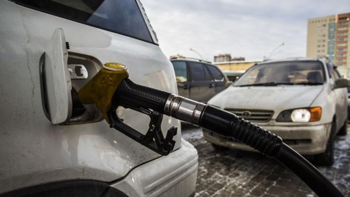 В Новосибирске выросли цены на дизельное топливо и бензин