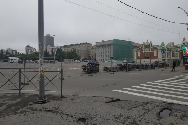 Участок Ленина до улицы Советской будет закрыт на неделю