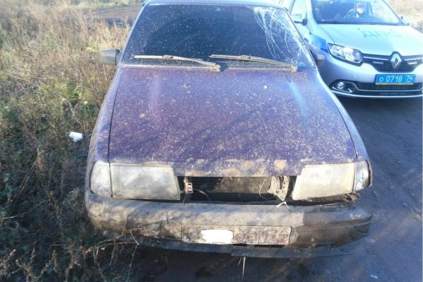 Водитель «Оды» испугался и уехал с места аварии
