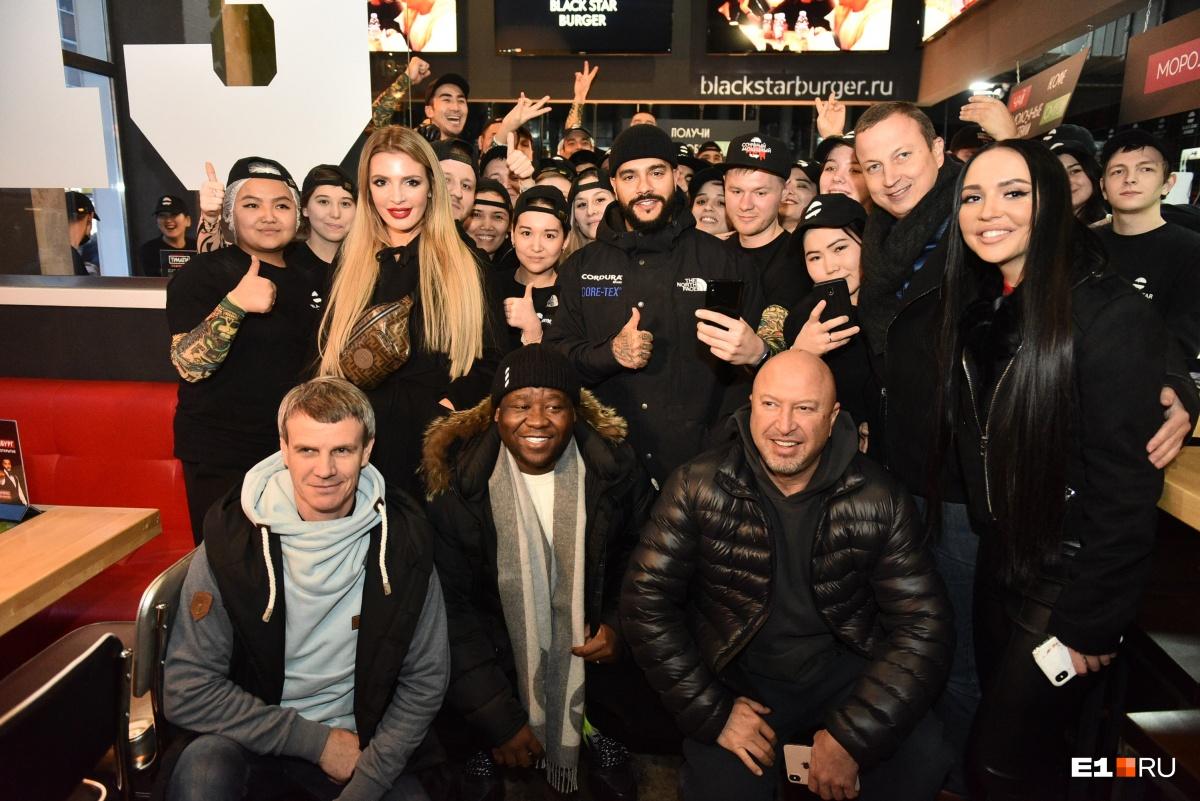 Команда Black Star Burger в Екатеринбурге