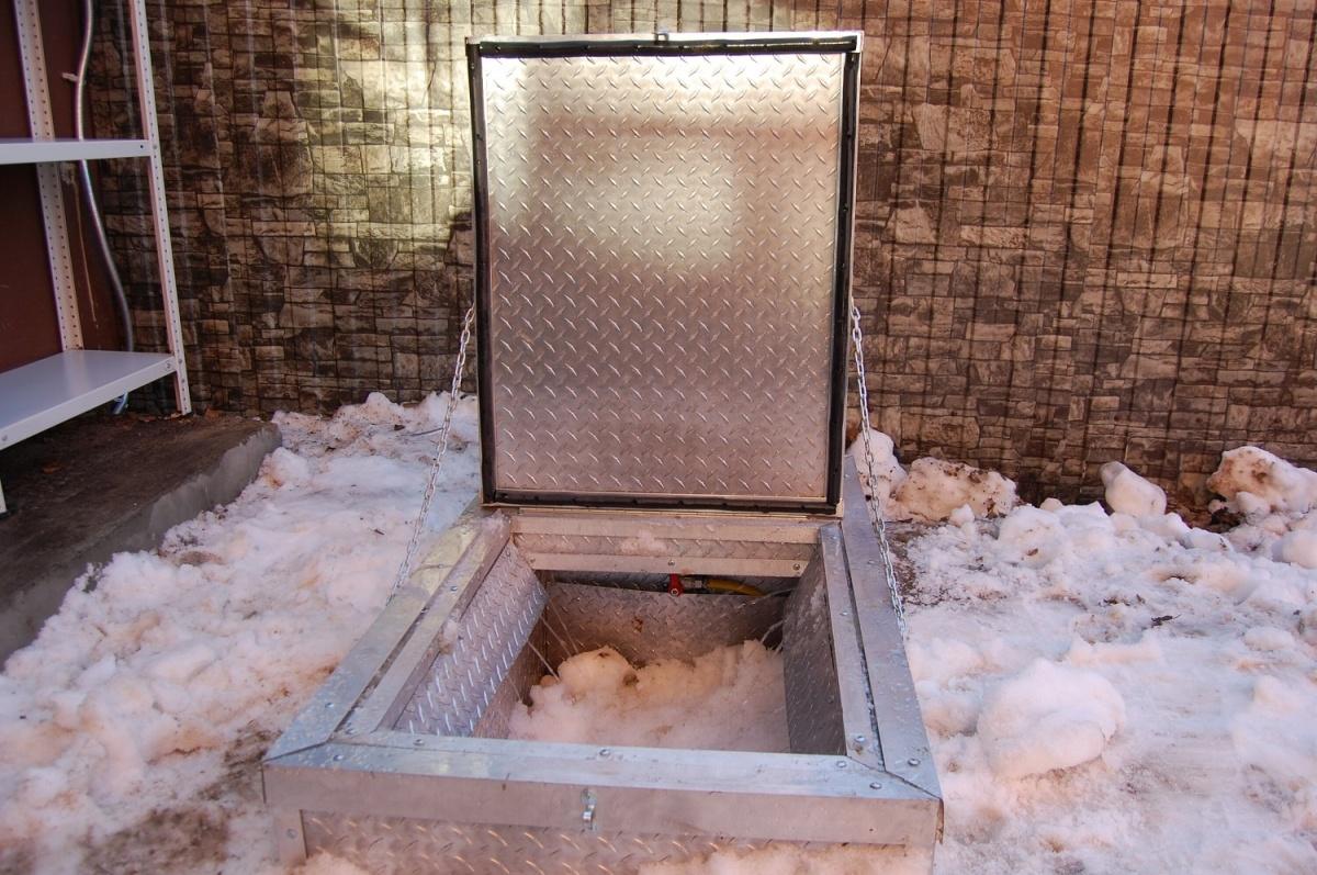 От гор снега на участке поможет избавить компактная снегоплавильная установка