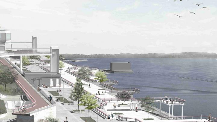 В Самаре предложили построить набережную в районе пристани «Поляна Фрунзе»