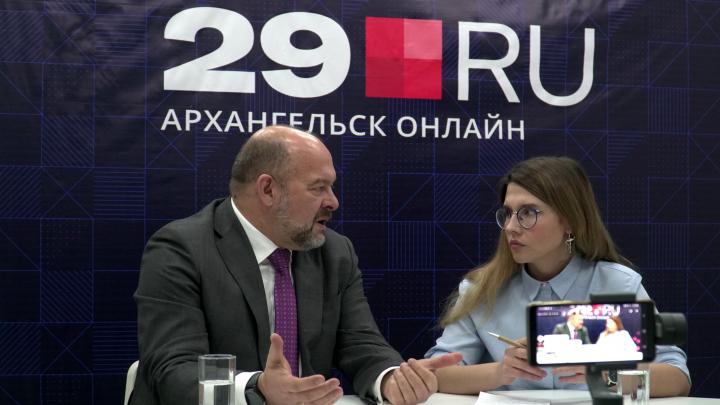 Игорь Орлов пришел в редакцию 29.RU, чтобы в прямом эфире подвести итоги уходящего года