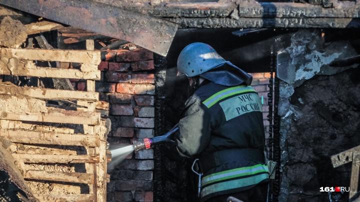 С начала нового года в Ростовской области в пожарах погибли два человека
