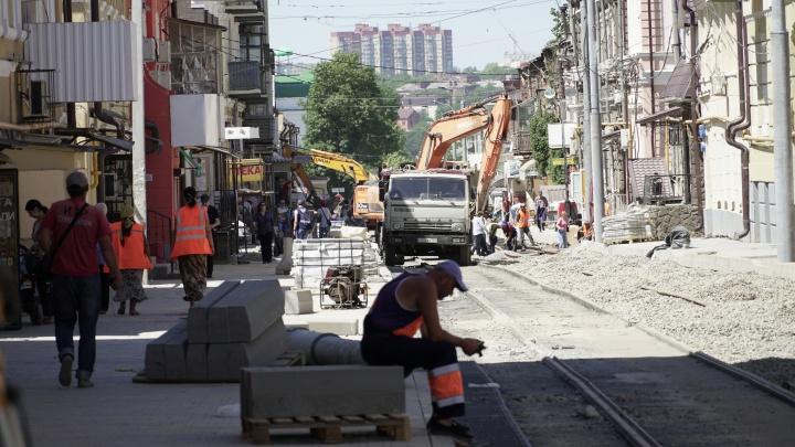 В Ростове банкротят подрядчика реконструкции улицы Станиславского