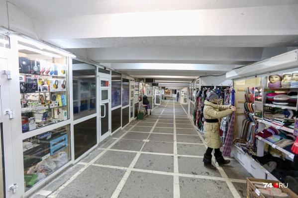 Сейчас подземные переходы больше напоминают базар
