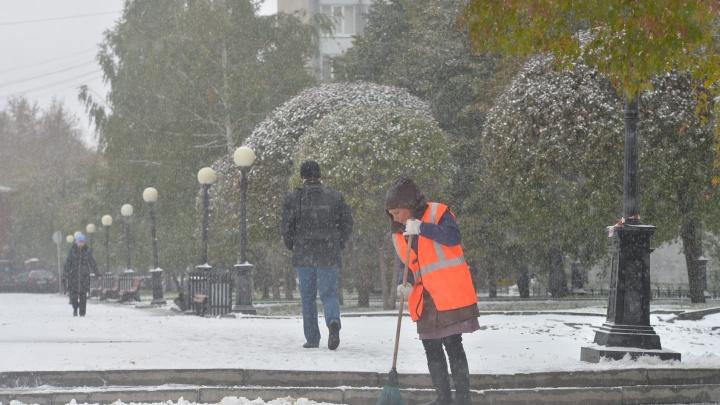 Убирайте шубы, снег растает: синоптики пообещали Екатеринбургу потепление к концу недели