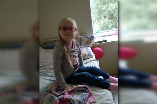 Сейчас Анюта проходит лечение в Пермском онкоцентре