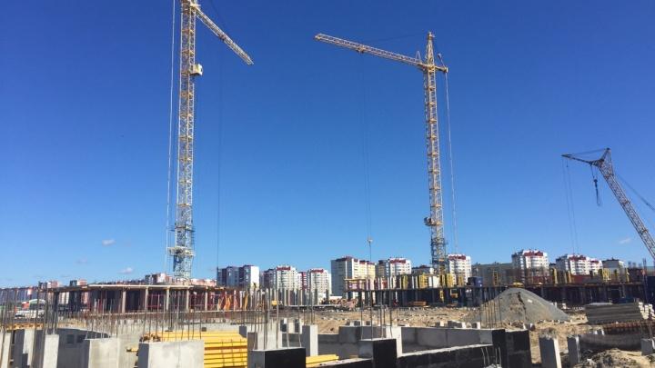 Новый этап панельного строительства в Тюмени