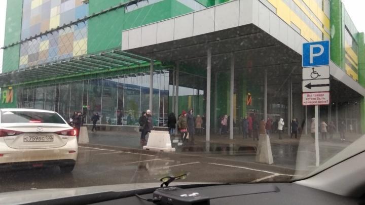 Обрушение потолка в гипермаркете «Яй» в Уфе проверит прокуратура
