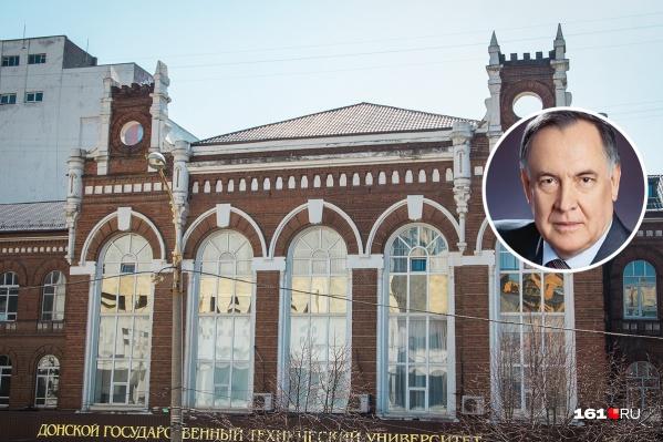 Виктор Шумейко в течение 20 лет был ректором РГСУ