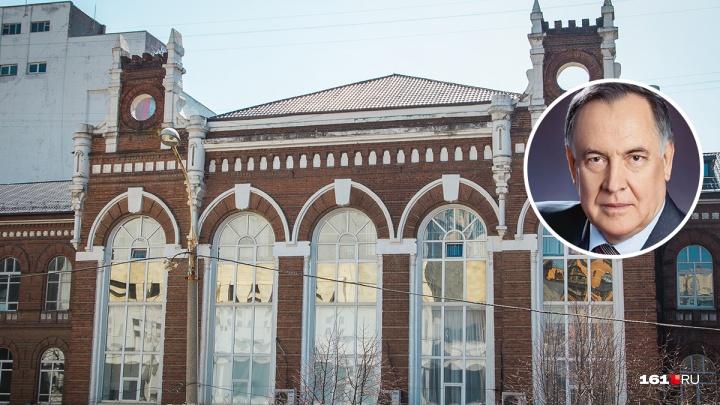 Умер бывший ректор РГСУ и депутат Заксобрания РО Виктор Шумейко