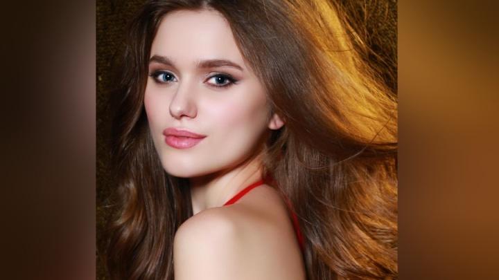 Красноярская красавица с голубыми глазами прошла в финал «Мисс Россия —2018»