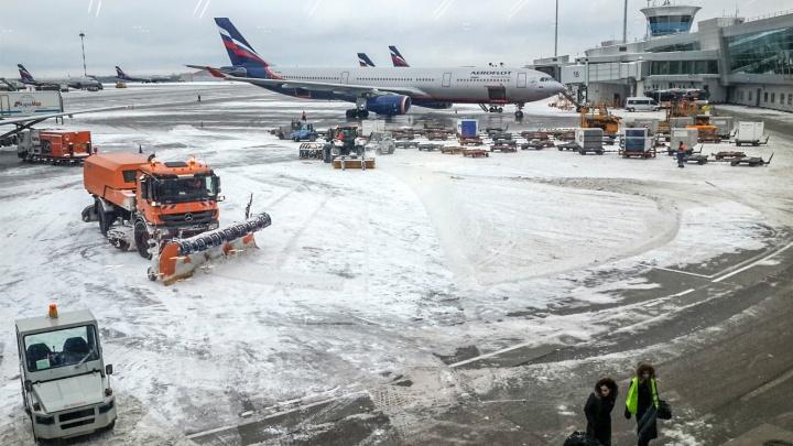 «Из-за погодных условий»: «Аэрофлот» вторые выходные подряд отменяет рейсы до Шереметьево и обратно