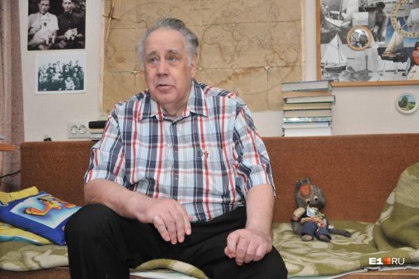 Владислав Крапивин скоро отпразднует 80-летний юбилей