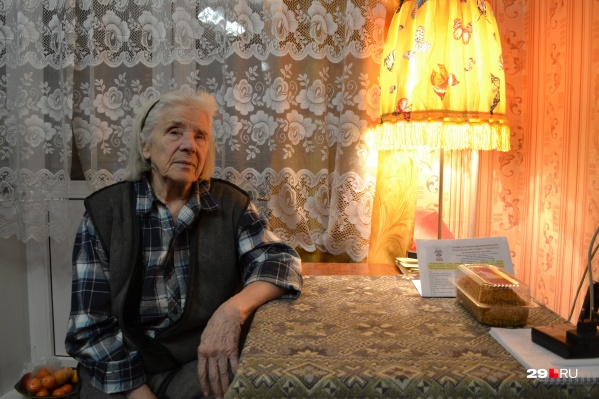 Уже много лет Тамара Павловна живет в Новодвинске