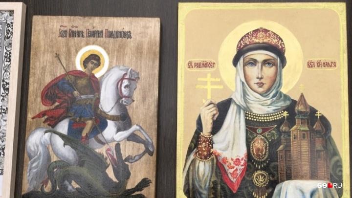 Икона пожизненно осужденного убийцы из «Белого лебедя» выиграла в конкурсе краевого ГУФСИН