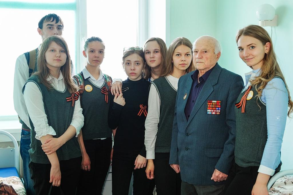 Владимир Иванович Лосев в 2016 году, фото областной больницы