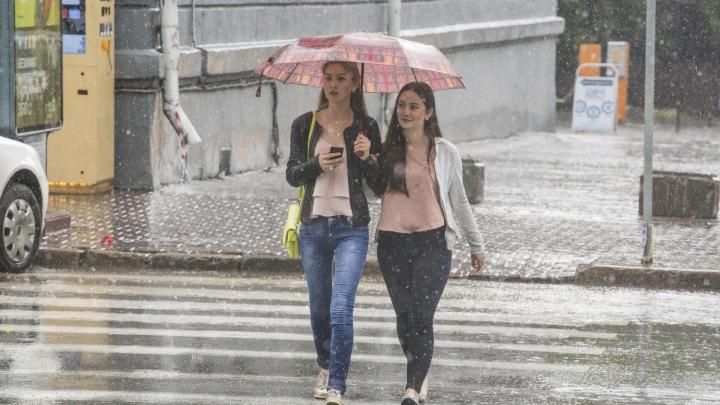 Дожди в Новосибирске закончатся к понедельнику