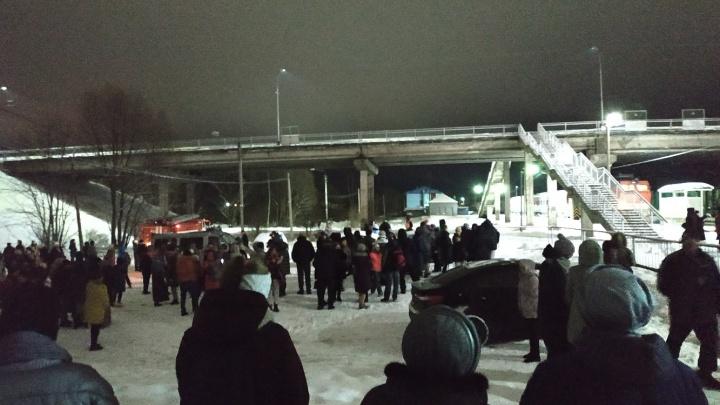Поезд Санкт-Петербург — Архангельск эвакуировали из-за звонка пьяной архангелогородки