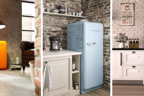 SMEG запустил акцию на легендарный холодильник FAB28 серии «Стиль 50-х»