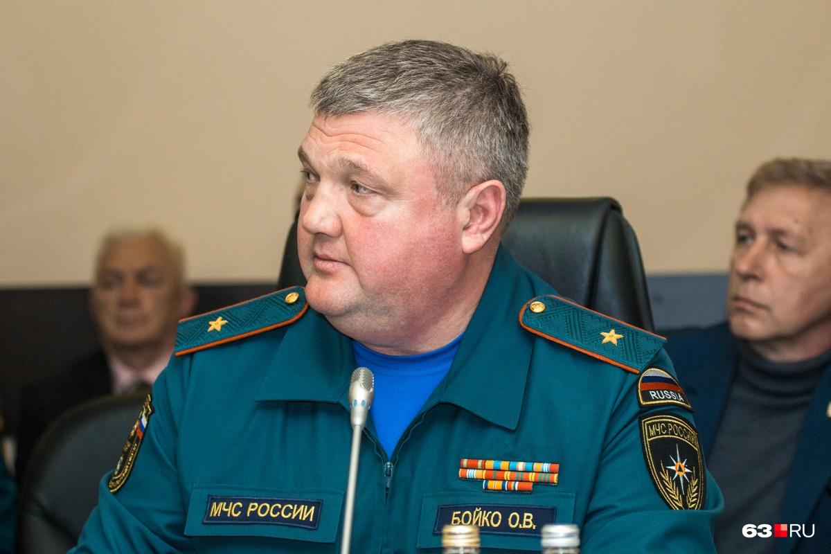 Олег Бойко: «Причиной пожара стал костер, который разожгла местная жительница»