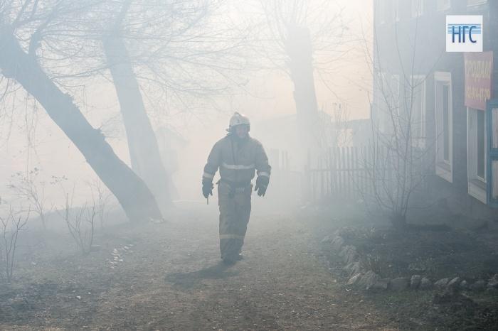 ВКрасноярском крае мужчина поджег собственный дом вместе сгостями