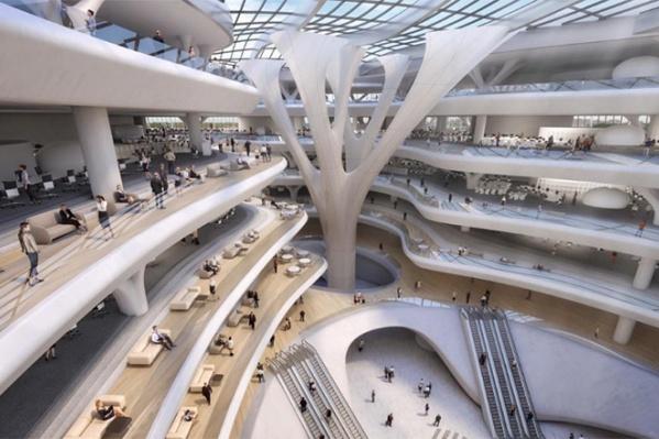 В здании технопарка будут работать 12 тысяч человек