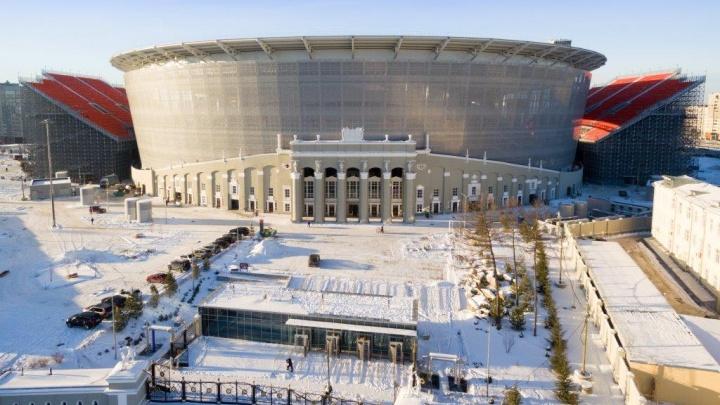 Центральный стадион сдали в эксплуатацию