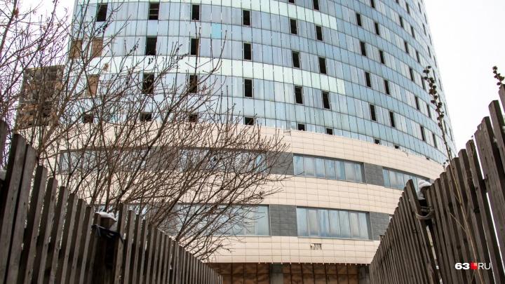 Тренажерный зал и буфет: чтобы достроить кассационный суд в Самаре, потребуется около 1 млрд рублей