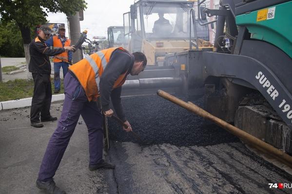За два с небольшим месяца в Челябинске предстоит отремонтировать ещё 16 улиц
