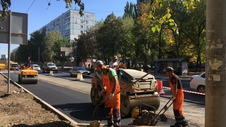 Парковку у парка Гагарина увеличат в полтора раза