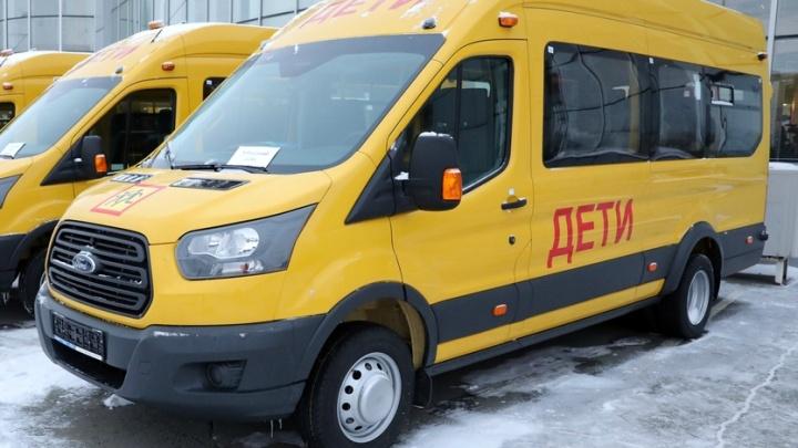 Зауралью выделили около 72 миллионов рублей на покупку школьных автобусов