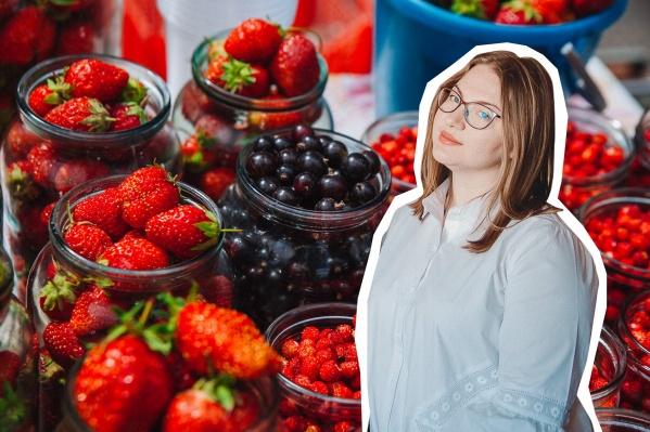 Людмила Тюменцева никогда не покупает фрукты и овощи на уличных рынках. Она — за безопасность
