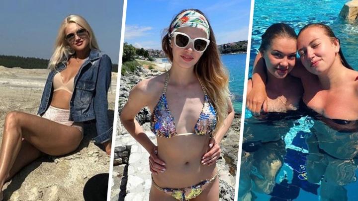 Семь сексуальных красоток из «Уралочки» в купальниках, посмотрев на которых, вы влюбитесь в волейбол
