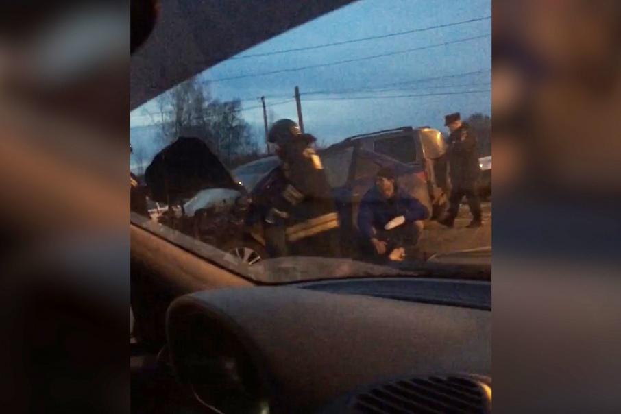 Последствия аварии ужаснули очевидцев