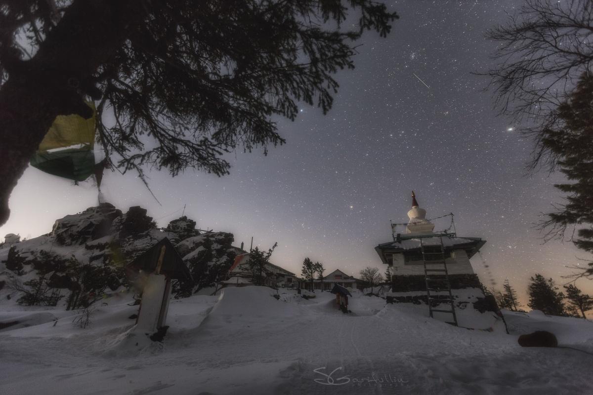 Монастырь «Шедруб Линг» на горе Качканар, Средний Урал